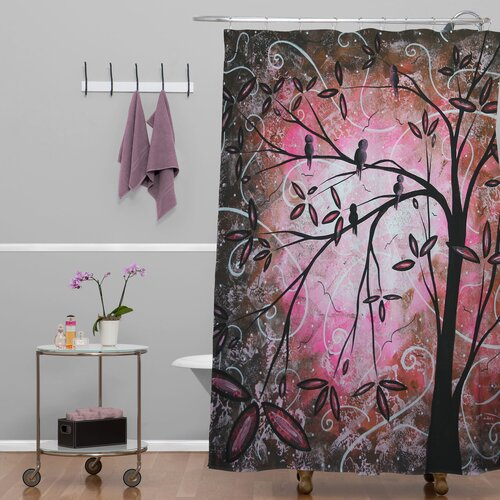 DENY Designs Madart Inc. Polyester Blossoms Shower Curtain
