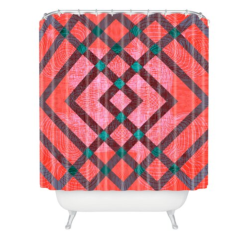 DENY Designs Randi Antonsen Woven Polyester Hoping for the Best Shower Curtain