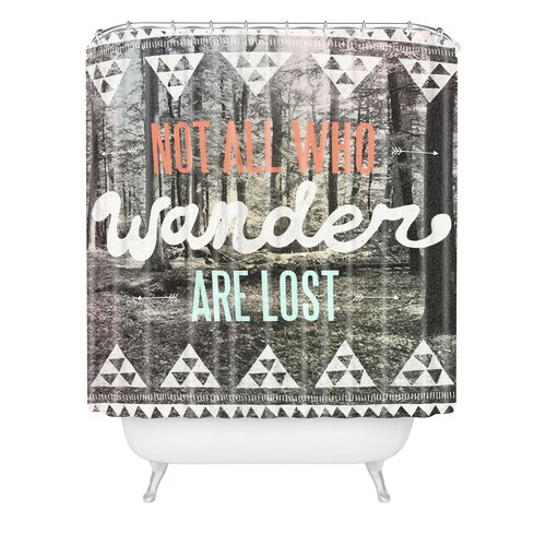 DENY Designs Wesley Bird Polyester Wander Shower Curtain