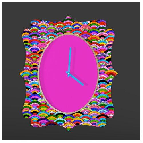 DENY Designs Fimbis A Good Day Wall Clock