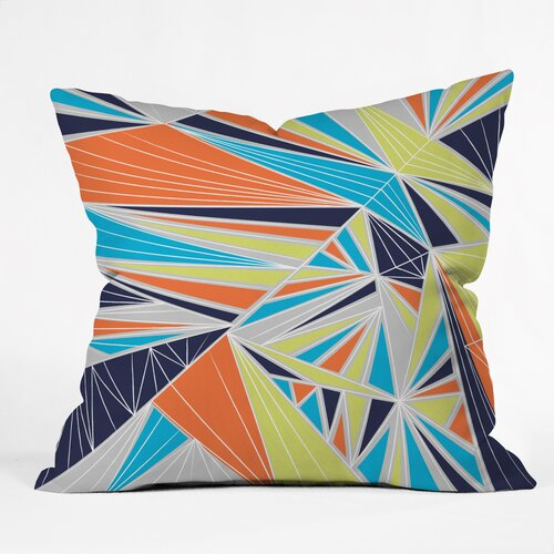 Vy La Tech It Out Retro Outdoor Throw Pillow