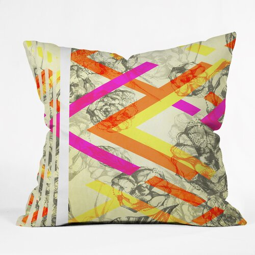 Pattern State Chevy Rose Outdoor Throw Pillow