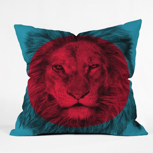 Garima Dhawan Wild 5 Outdoor Throw Pillow