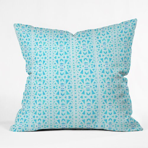 Hadley Hutton Floral Tribe Collection 4 Outdoor Throw Pillow