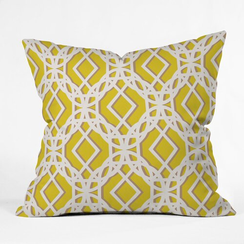 DENY Designs Aimee St Hill Diamonds Polyester Throw Pillow