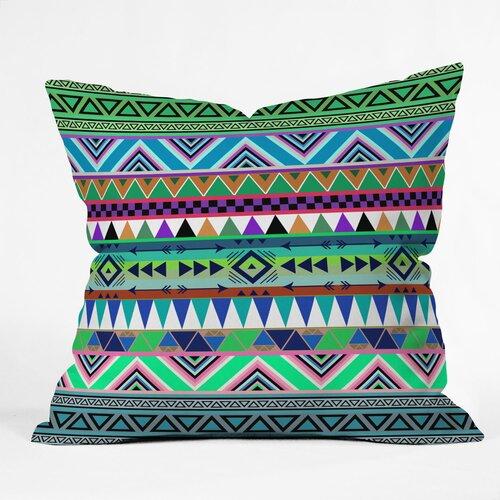 DENY Designs Bianca Green Esodrevo Indoor/Outdoor Polyester Throw Pillow