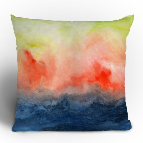 DENY Designs Jacqueline Maldonado Brushfire Polyester Throw Pillow
