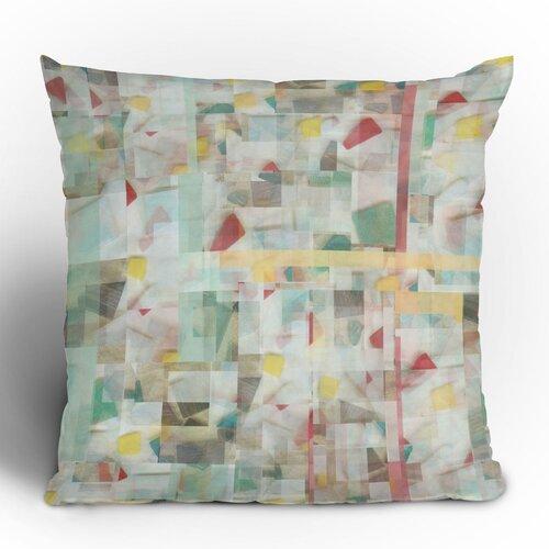 Jacqueline Maldonado Mosaic Polyester Throw Pillow