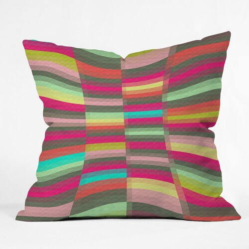 DENY Designs Jacqueline Maldonado Spectacle Indoor / Outdoor Polyester Throw Pillow