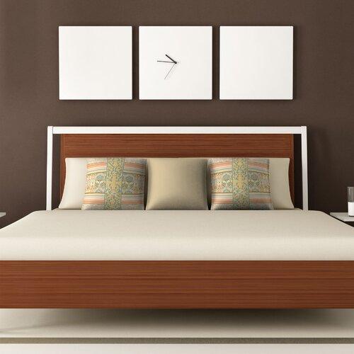 DENY Designs Jacqueline Maldonado Vintage Stripe Polyester Throw Pillow