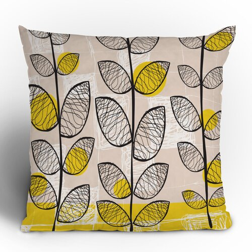 DENY Designs Rachael Taylor 50s Inspired Woven Polyester Throw Pillow