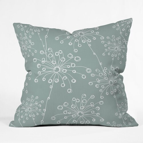 Rachael Taylor Quirky Motifs Woven Polyester Throw Pillow