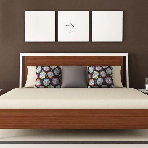 DENY Designs Rachael Taylor Scribble Shells Woven Polyester Throw Pillow