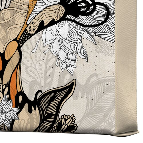 DENY Designs Floral 1 by Iveta Abolina Graphic Art on Canvas