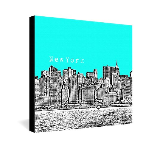DENY Designs New York by Bird Ave. Graphic Art on Canvas