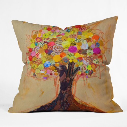 DENY Designs Elizabeth St Hilaire Nelson Summer Tree Polyester Throw Pillow