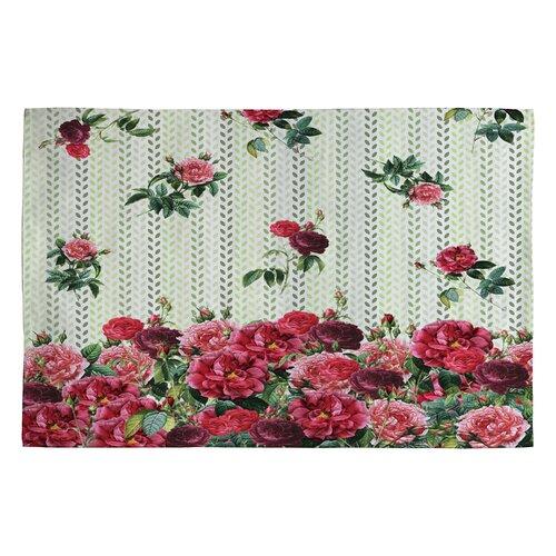 DENY Designs Belle13 Vintage Rose Rug