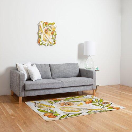 DENY Designs Cori Dantini Happy Family Single Novelty Rug