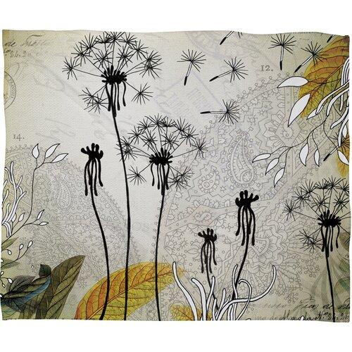 DENY Designs Iveta Abolina Little Dandelion Polyester Fleece Throw Blanket