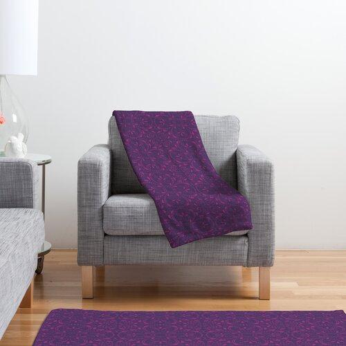 DENY Designs Khristian A Howell Provencal Lavender 1 Polyester Fleece Throw Blanket