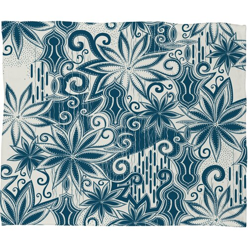 DENY Designs Khristian A Howell Moroccan Mirage 1 Polyester Fleece Throw Blanket