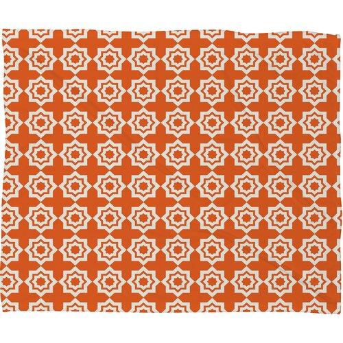 Khristian A Howell Moroccan Mirage Polyester Fleece Throw Blanket