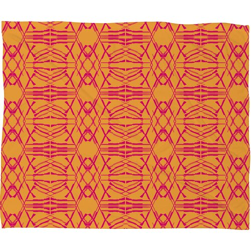 Pattern State Polyester Fleece Throw Blanket