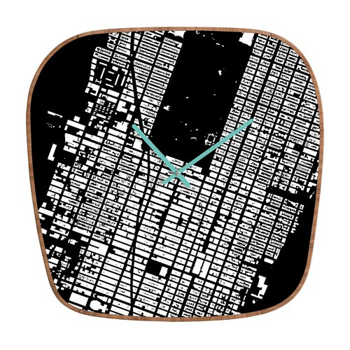 DENY Designs CityFabric Inc. NYC Midtown Wall Clock