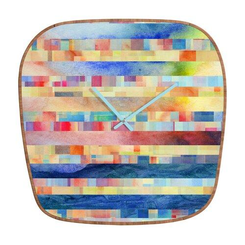 DENY Designs Jacqueline Maldonado Amalgama Wall Clock
