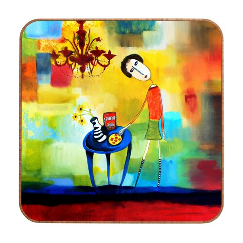 DENY Designs Cheeze It Thank You by Robin Faye Gates Framed Painting Print Plaque