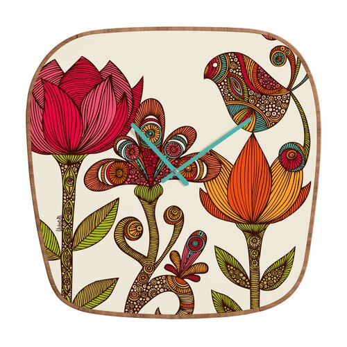 DENY Designs Valentina Ramos The Garden Wall Clock