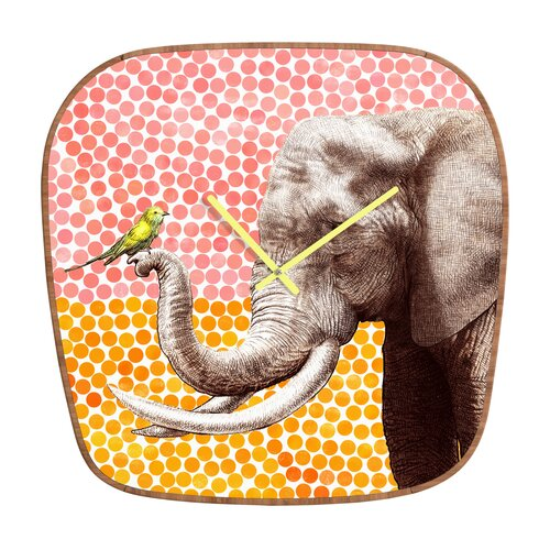 DENY Designs Garima Dhawan New Friends Wall Clock