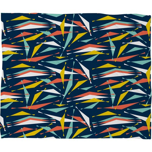 Heather Dutton Swizzlestick Party Girl Polyesterrr Fleece Throw Blanket
