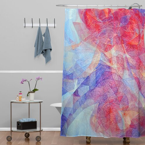 DENY Designs Jacqueline Maldonado Woven Polyester Sweet Rift Shower Curtain