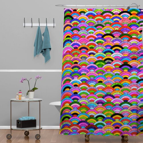 DENY Designs Fimbis A Good Day Polyester Shower Curtain