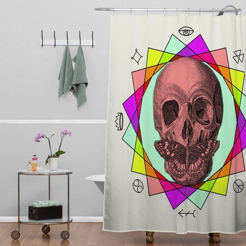 DENY Designs Wesley Bird Polyester True Sign Art Shower Curtain