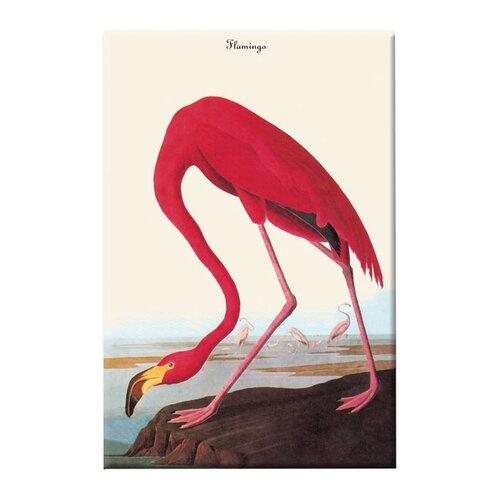 Buyenlarge Flamingo Painting Print on Canvas