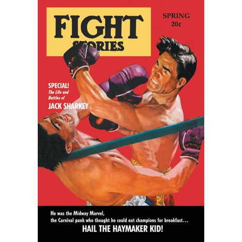 Hail the Haymaker Kid Vintage Advertisement on Canvas