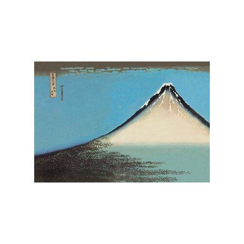 Mount Fuji by Hokusai Painting Print on Canvas