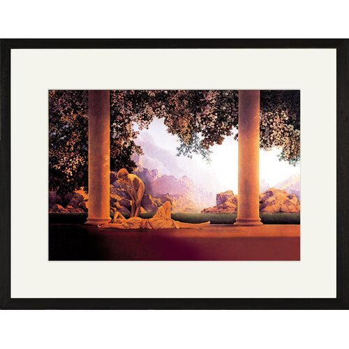 Buyenlarge Daybreak by Maxfield Parrish Framed Painting Print