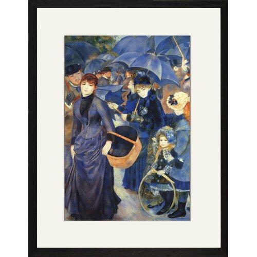 Buyenlarge Les Para Pluies Framed Painting Print
