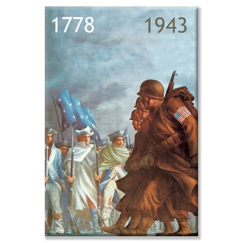 Buyenlarge 1778 / 1943 Vintage Advertisement on Canvas