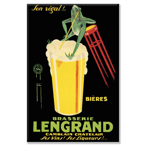 Buyenlarge Lengrand by Phi Vintage Advertisement on Canvas