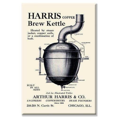 Harris Copper Brew Kettle Vintage Advertisement on Canvas