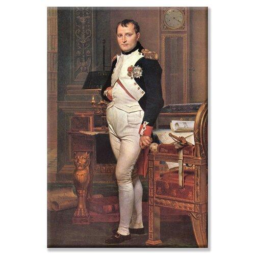 Buyenlarge Portrait of Napoleon in His Work Room Photographic Print on Canvas
