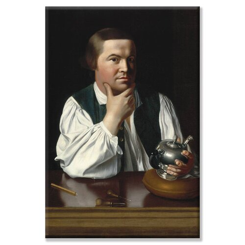 Buyenlarge Portrait of Paul Revere by John Singleton Copley Painting Print on Canvas