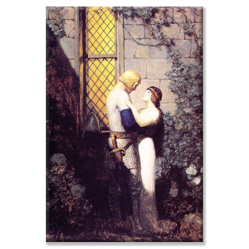 Buyenlarge Oh, Gentle Knight by Newell Convers Wyeth Painting Print on Canvas