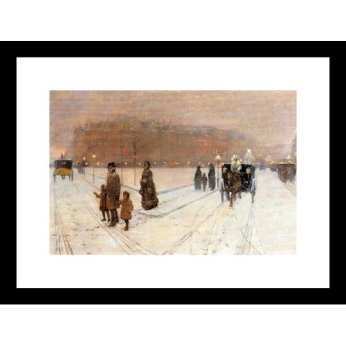 Urban Fairy Tale Framed Painting Print