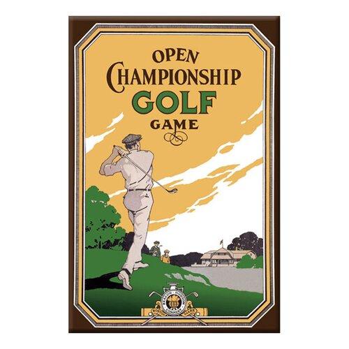 Buyenlarge Open Championship Golf Game Vintage Advertisement on Canvas