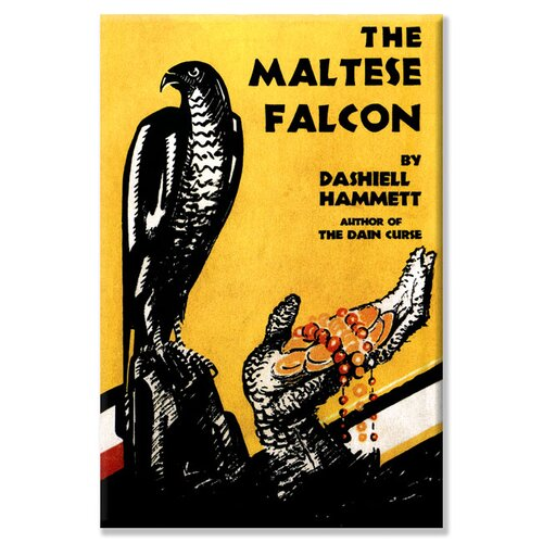 The Maltese Falcon Graphic Art on Canvas